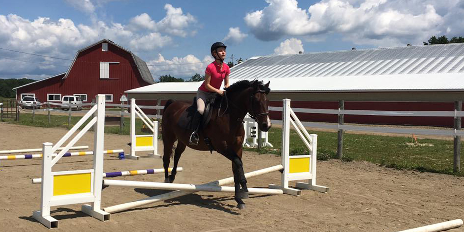 Summer Camp Equestrian Headers 2019 Houghton Summer Camps