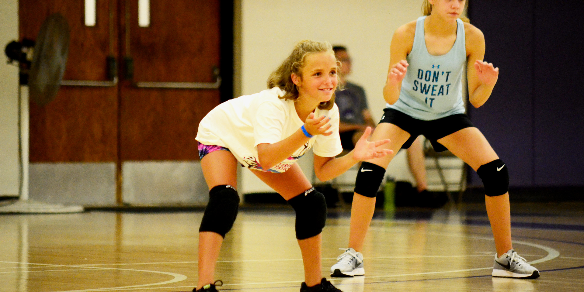 Summer Camp Volleyball Header 2019 Houghton Summer Camps